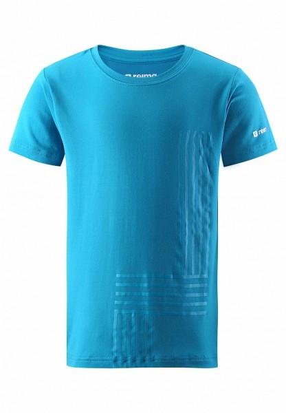 reima SPEEDER Kinder T-Shirt, Blue Sea