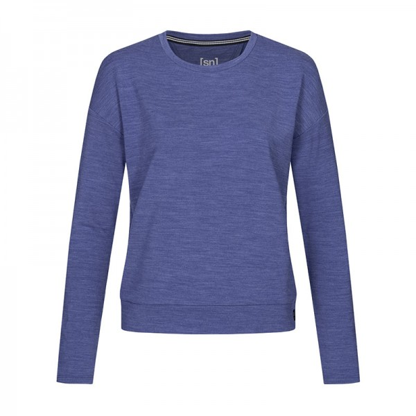 super.natural JONSER SWEATER Damen Sweatshirt, Fairytale Melange