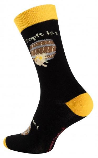 2150 Vincent Creation® BEER Unisex Casual Socken (Gr. 41-45), Bierfaß