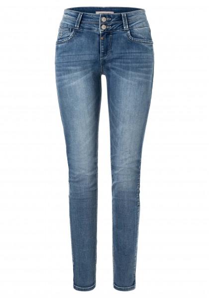 TIMEZONE SLIM ENYA TZ Damen Jeans, Summer Breeze Wash