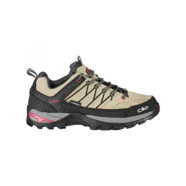 CMP Campagnolo RIGEL LOW Damen Trekking Schuh, Sand/Arabica