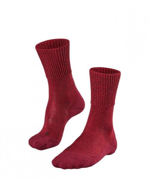 Falke TK1 WOOL Damen Trekking Socken, Scarlet