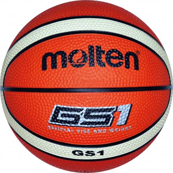 molton BGS1-OI Kinder Mini Basketball, Orange/Ivory