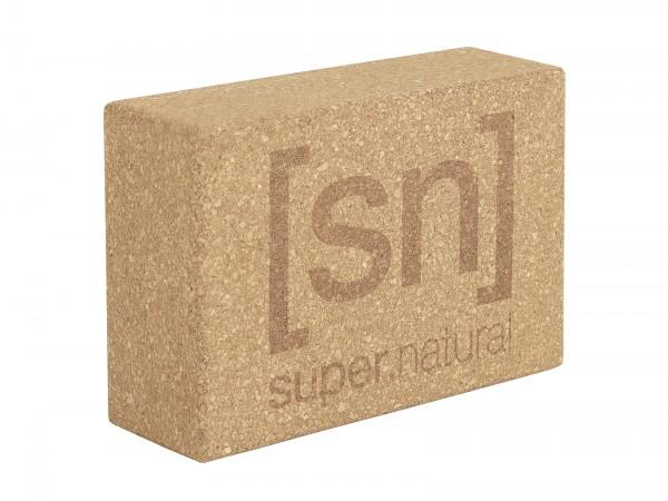 SNA003020COR super.natural KARANA Yoga Block, Cork