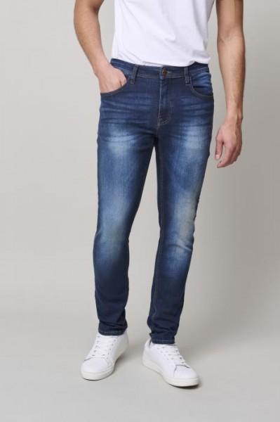 Blend JET FIT Herren Jeans (34er Länge), Denim Dark Blue