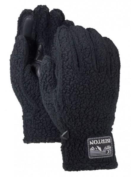 Burton STOVEPIPE Herren Fleece-Handschuh, True Black Heather