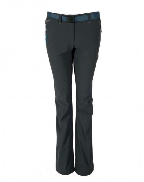 Ternua MAGARI Damen Trekkinghose, Whales Grey/Duck Blue