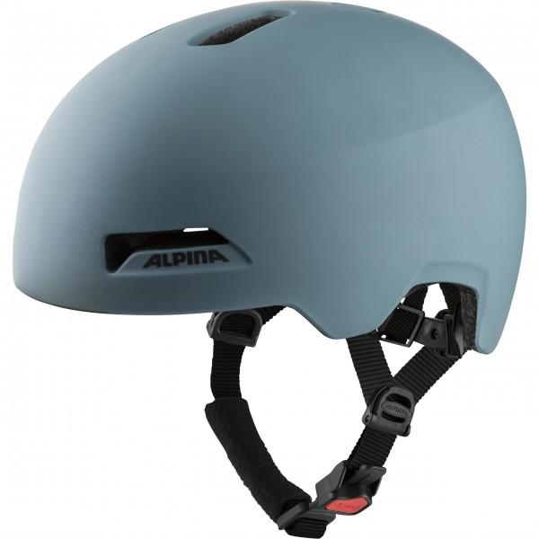 Alpina HAARLEM Kinder Fahrradhelm ( 52-57 ), Dirt Blue Matt