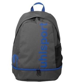 uhlsport ESSENTIAL Backpack, Anthrazit/Azurblau