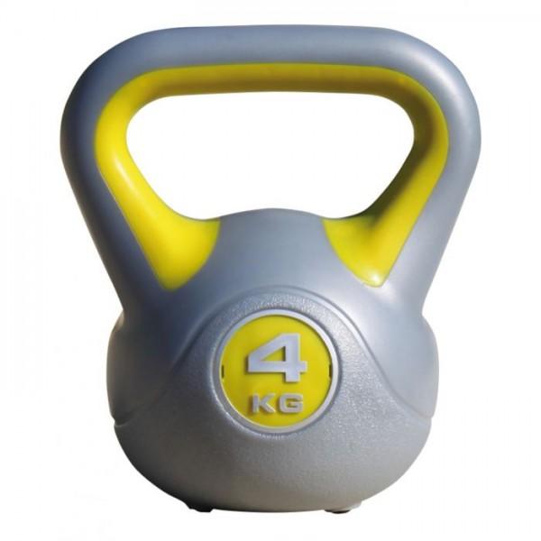 Kübler Sport Kettlebell 4 kg, Gelb