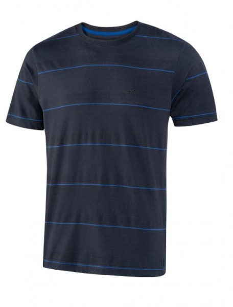 JOY sportswear EMIL Herren T-Shirt, Night/Kobald gestreift