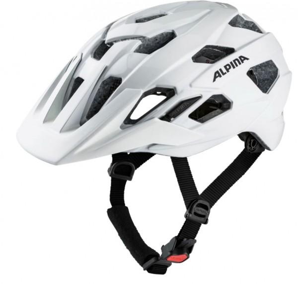 Alpina ANZANA Unisex Fahrradhelm, White Matt