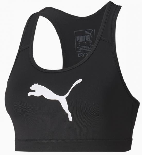 Puma 4KEEPS Damen Sport-BH, Puma Black/Puma White Cat