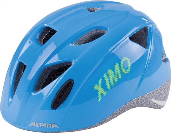 A9711082 Alpina XIMO Kinder Fahrradhelm, Blue