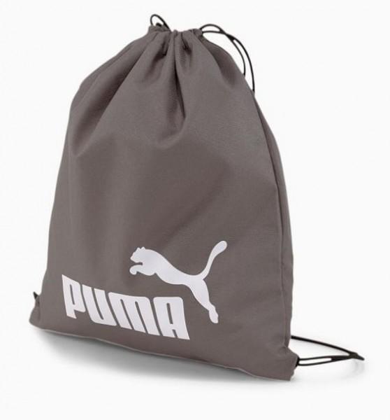 Puma PHASE Gym Sack Turnbeutel, Quiet Shade/Puma White