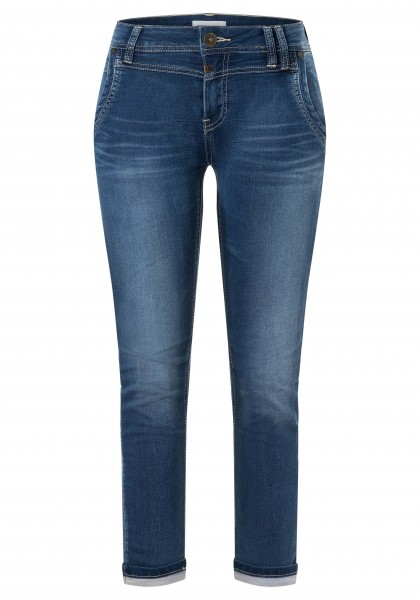 TIMEZONE SLIM NALITZ Damen Jeans, Blue Denim Wash