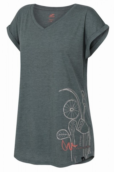Hannah CANIS Damen T-Shirt, Dark Forest