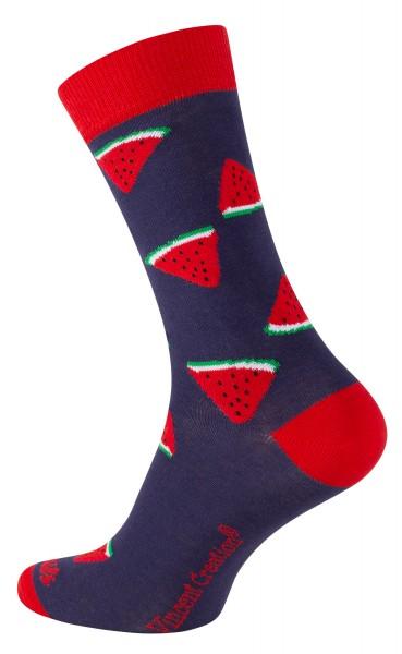 2162 Vincent Creation® FRUITS Unisex Casual Socken, Melon