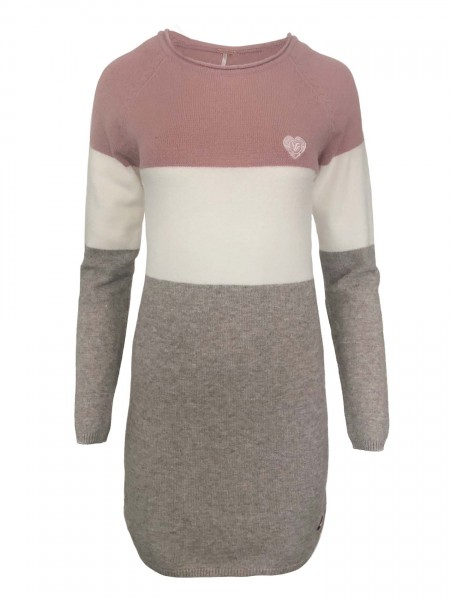 aiki Keylook BLOCK PARTY Damen Knit Dress, Rose
