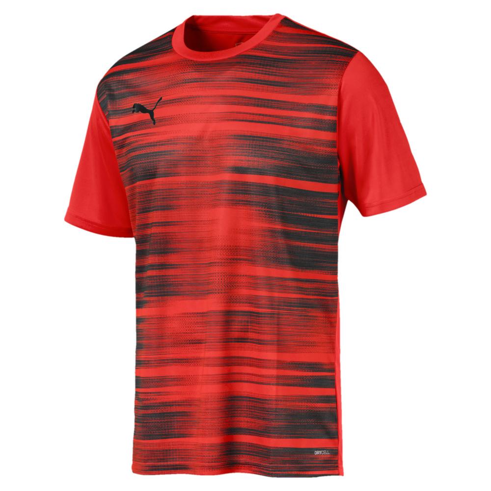 Dettagli su PUMA ftblnxt Core Graphic T shirt, NRGY RedPuma Black (UVP 30 €) mostra il titolo originale